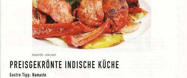 preisgekronte indische kuche kr one das original